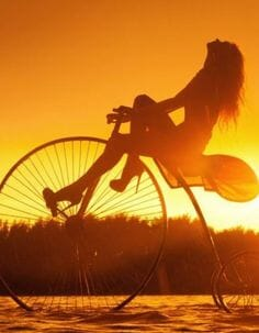 Riding Bike Self Love Beauty