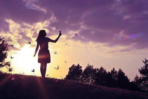 butterflies-girl-self love beauty