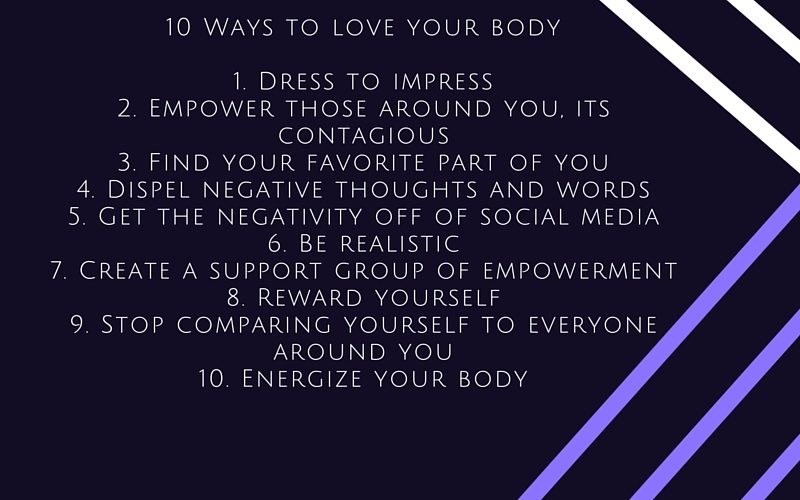 10 ways to love your body self love beauty