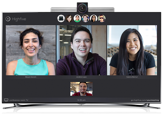 Highfive-Video-Conferencing-Meeting-Room-Collaboration-1 self love beauty