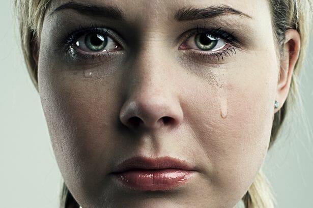 crying Self Love Beauty
