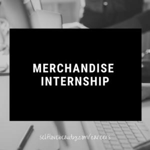 Merchandise Internship